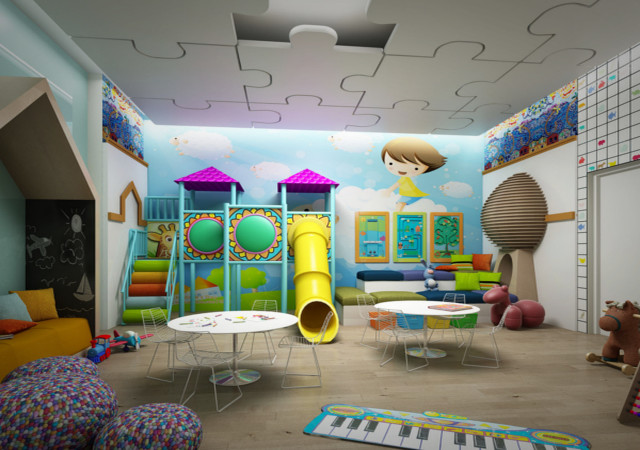 Kids room at the Eglinton