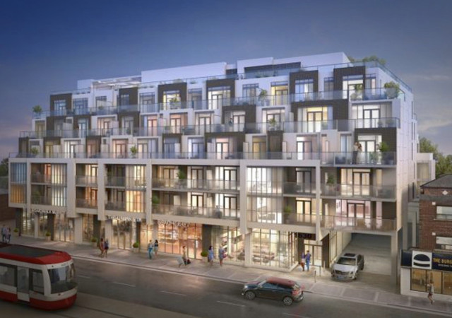Outside view of Westbeach Condos